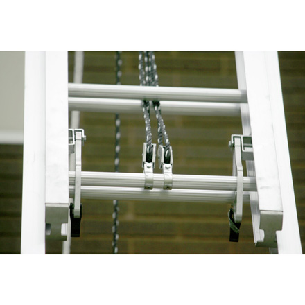 560 3 60 Type I Aluminum Round Rung Extension Ladder For